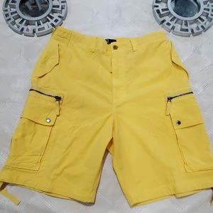 Polo By Ralph Lauren Yellow Cardo Shorts Size L